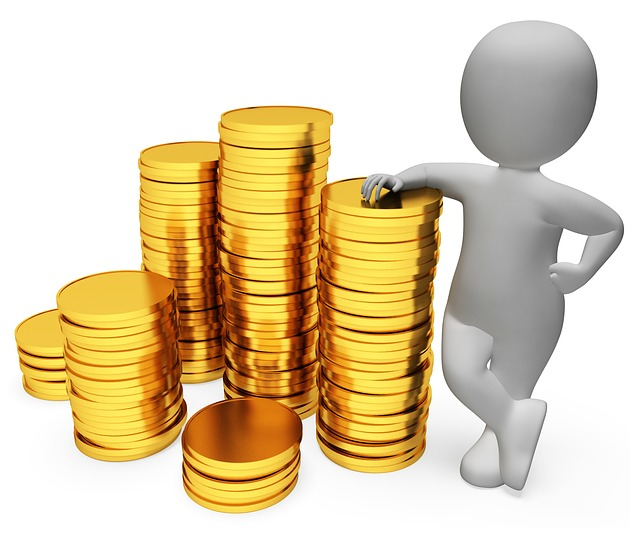 panáček u mincí